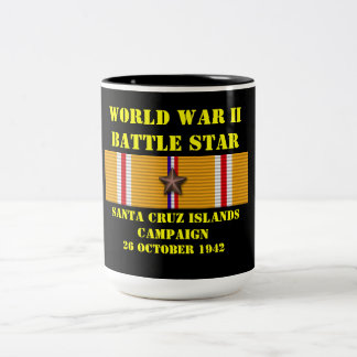 Campagne d'îles de Santa Cruz Mug Bicolore