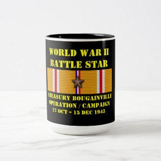 Campagne d'opération de Bougainville de trésor Mugs À Café