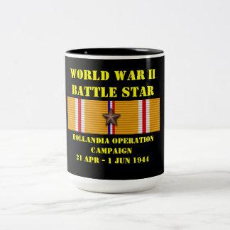 Campagne d'opération de Hollandia Mug Bicolore