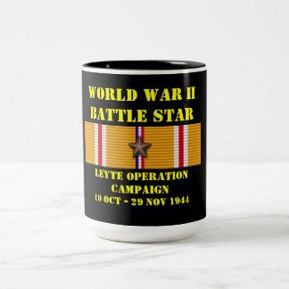 Campagne d'opération de Leyte Mug Bicolore