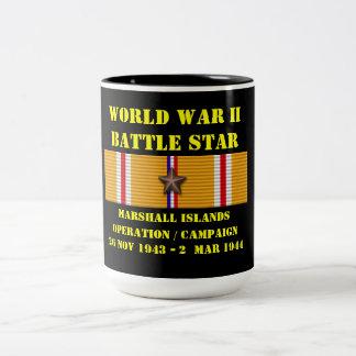 Campagne d'opération des Marshall Islands Mug Bicolore