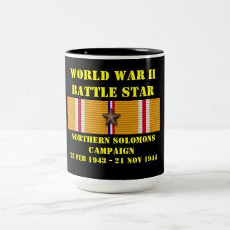 Campagne du nord de Solomons Mug Bicolore