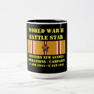 Campagne occidentale d'opérations de la Nouvelle-G Mug Bicolore