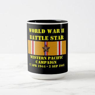 Campagne Pacifique occidentale Mug Bicolore