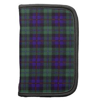 Campbell de tartan d'écossais de plaid de clan de agendas