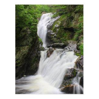 Campbell tombe cascade de Berkshires Carte Postale