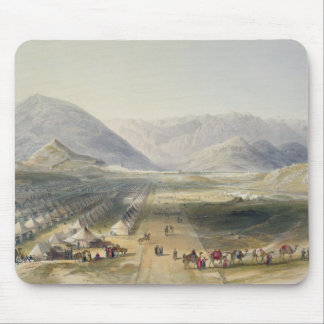Campement de l'armée de Kandahar sous le Général N Tapis De Souris