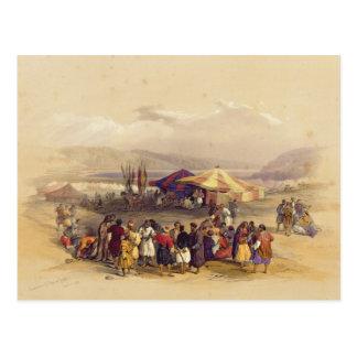 Campement des pèlerins au volume II de Jericho Cartes Postales