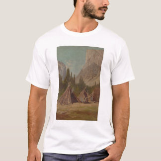 Campement indien en vallée de Yosemite (1189) T-shirt