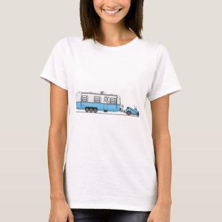 Campeur de voiture d'Eco T-shirt