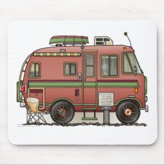 Campeur rv de camping-car de Travco Tapis De Souris