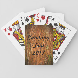 Camping de forêt jeux de cartes