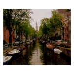 Canal d'Amsterdam Poster