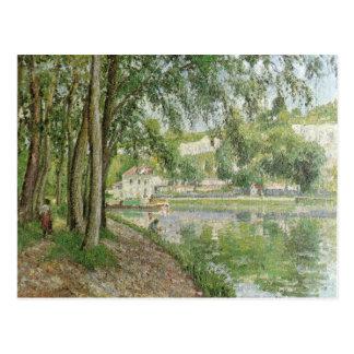 Canal du Loing 1902 de Moret par Camille Pissarro Carte Postale