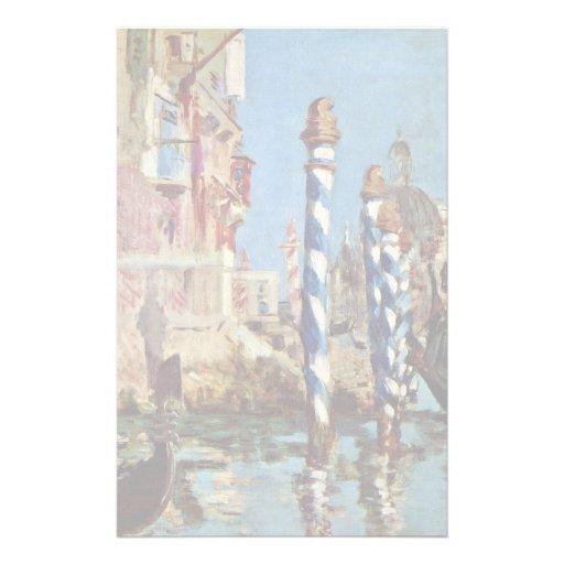 Canal grand à Venise par Manet Edouard Papiers À Lettres