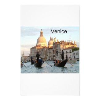 Canal grand de l'Italie Venise (St.K) Papier À Lettre Customisé