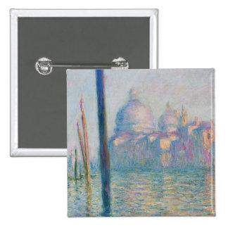 Canal grand du le de Claude Monet Badge