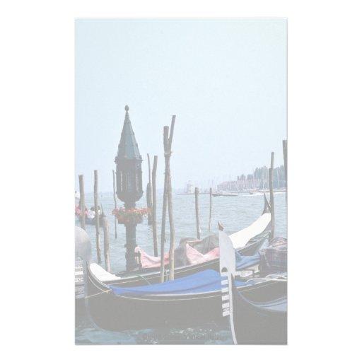 Canal grand, Venise, Italie Papier À Lettre Customisable