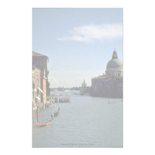 Canal grand, Venise, Italie Papier À Lettre