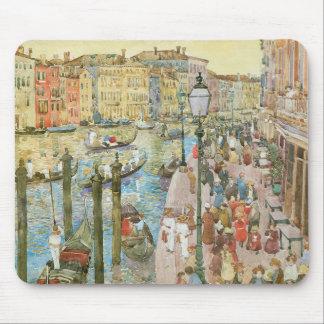 Canal grand, Venise par Maurice Prendergast Tapis De Souris