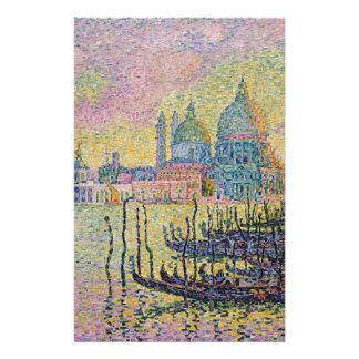 Canal grand, Venise par Paul Signac Papier À Lettre