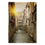 Canal urbain poster