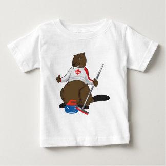 Canalisation de bordage de castor du Canada 150 en T-shirt Pour Bébé