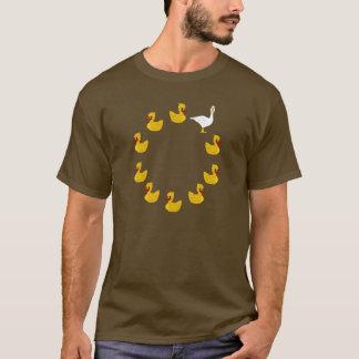 Canard, canard, oie t-shirt