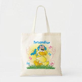 Canard de Pâques de printemps Tote Bag