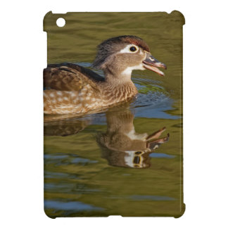 Canard en bois appelle femelle étui iPad mini