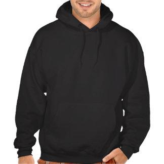 Canard jaune de rockabilly sweatshirt à capuche