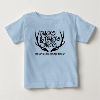 Canards, camions, mâles, est qui de ce que des t-shirt pour bébé