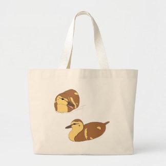 canards de ferme grand tote bag