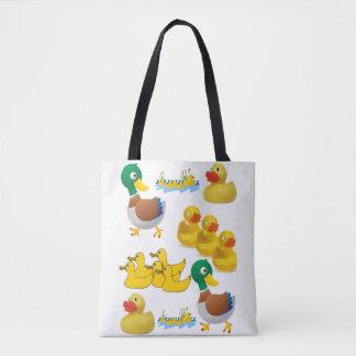 canards jaunes de sac fourre-tout