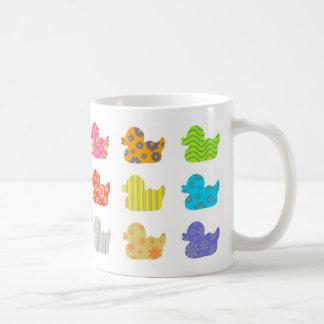 Canards modelés tasses