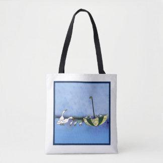 Canards sur le défilé Porter-tout Tote Bag
