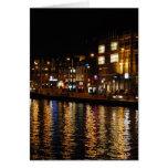 Canaux d'Amsterdam Cartes De Vœux