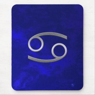 cancer argenté - bleu tapis de souris