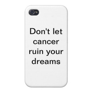 cancer coque iPhone 4