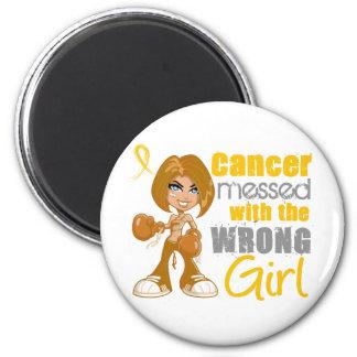 Cancer d enfance sali avec la fille fausse magnets
