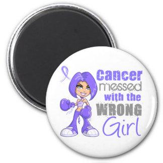 Cancer de l estomac sali avec Girl png faux Aimant