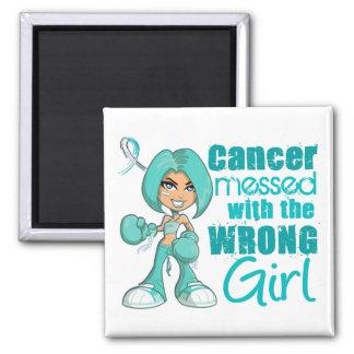 Cancer du col de l utérus sali avec la fille fauss magnets