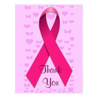 Cancer du sein Awareness_ Carte Postale