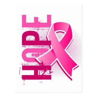 Cancer du sein de l'espoir 2 carte postale