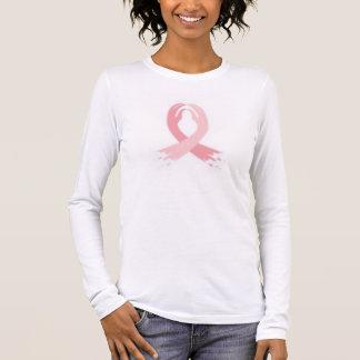cancer du sein t-shirt à manches longues