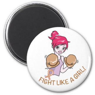 CANCER FIGHT-CHILDHOOD MAGNET ROND 8 CM