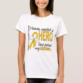 Cancer nécessaire d'enfance de soeur de héros de t-shirt