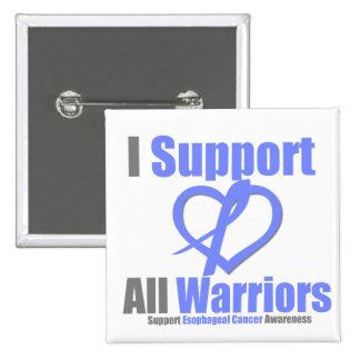 Cancer oesophagien je soutiens tous les guerriers pin's