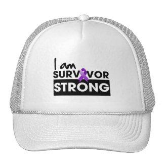 Cancer pancréatique je suis survivant fort casquette de camionneur