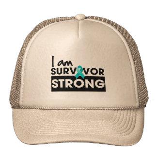 Cancer péritonéal je suis survivant fort casquettes